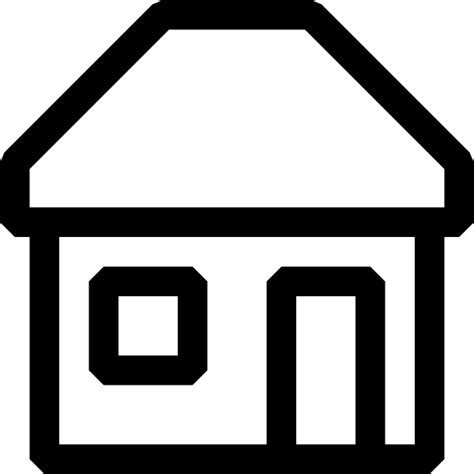 home icon black and white black and white house icon clip free vector in open