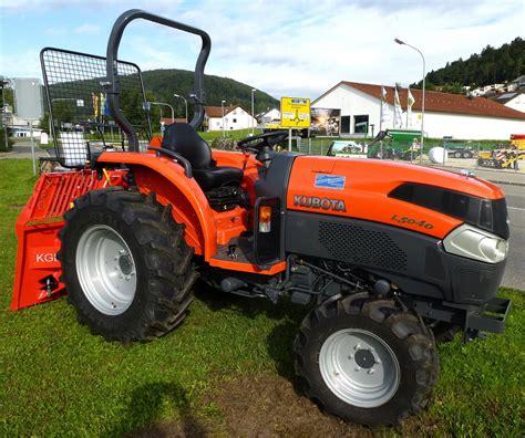 kubota l serie kubota l5040 das japanische unternehmen baut traktoren der l serie f 252 r den europ 228 ischen markt