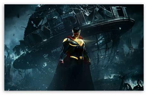 Ultra Hd Lock Screen Superman Wallpaper by Injustice 2 Superman 4k Hd Desktop Wallpaper For Wide