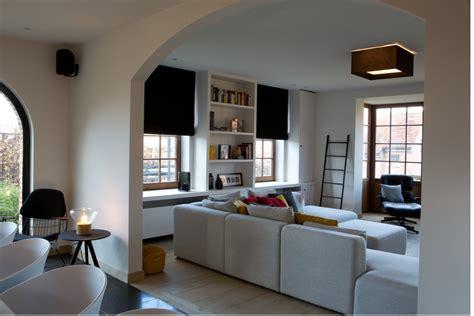 wit design interieur landelijke woning met strak interieur binnenkijken