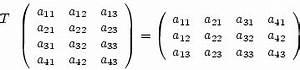 Transponierte Matrix Berechnen : transponierte matrix lineare algebra ~ Themetempest.com Abrechnung