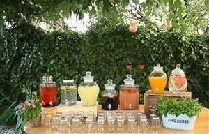 Bonbonne Avec Robinet : mason jar limonade bar bonbonne avec robinet paris ~ Teatrodelosmanantiales.com Idées de Décoration