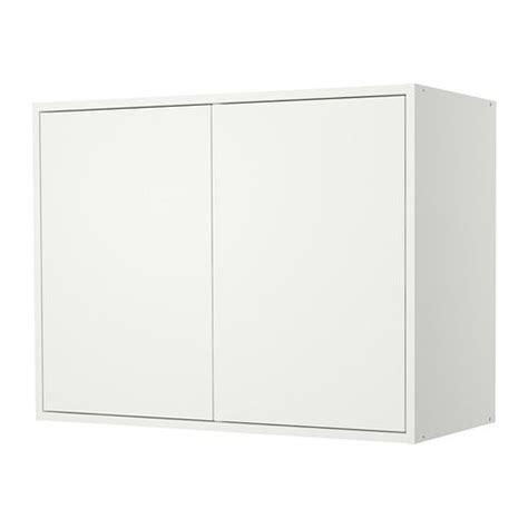 Ikea White Wall Cabinets by Fyndig Wall Cabinet With Doors Ikea