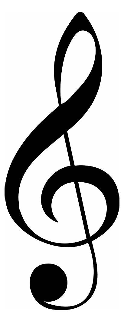 Clef Note Musical Notes Treble Svg Icon