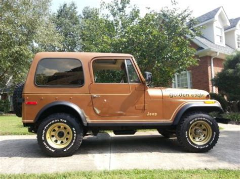 jeep eagle for sale find used 1979 jeep cj7 golden eagle in chattanooga