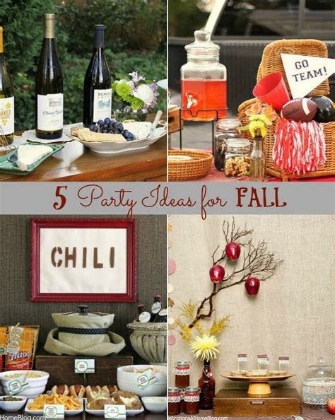 party themes  fall gatherings celebrations  home