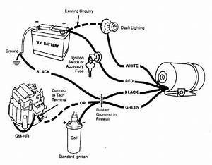 sun super tach 2 wiring diagram wiring diagram and With tach wiring
