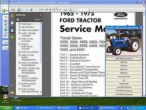 Ford Tractors 2000  2310 2600 2610 3000 3230 3430 3600