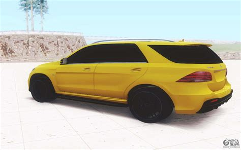 Gle features and design highlights. Mercedes-Benz GLE 63 AMG Wagon for GTA San Andreas