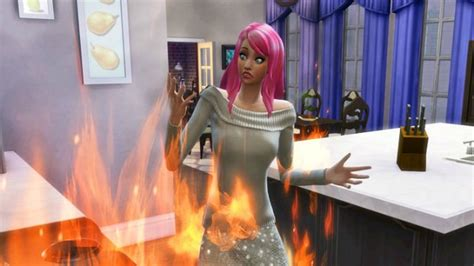 sims    put   fire cheats  extinguish