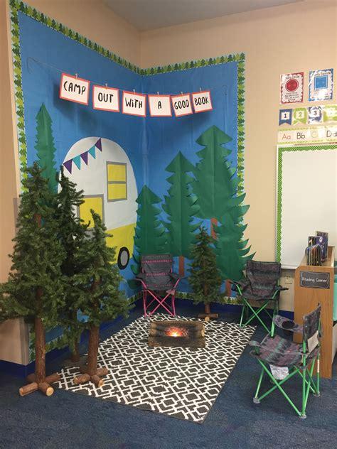 camping reading area woodland friends classroom 506 | a876dd90f85d6b4e9ff93b05f6c9f33d