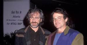 Robin Williams and Steven Spielberg, 1991 - Photos ...