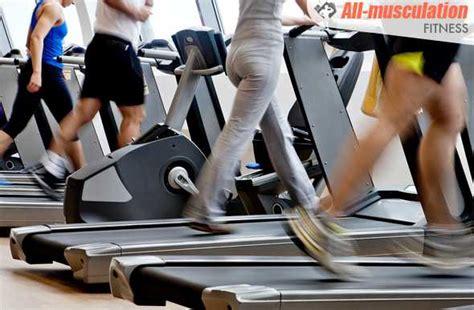 exemple de running sur tapis de course