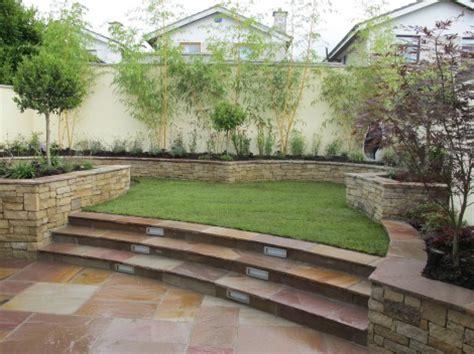 how to level garden split level garden design and landscaping