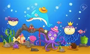 Underwater world clipart - Clipground
