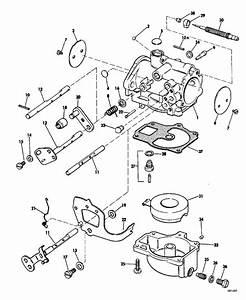 Johnson Carburetor Group Parts For 1969 55hp 55es69c