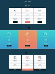 30 Best Html Css Pricing Table Templates  Tutorials
