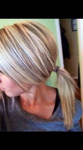 Blonde highlights and lowlights perfect shades hair