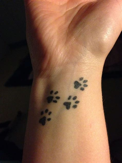 dog paw memorial tattoo tattoos pinterest paw tattoo