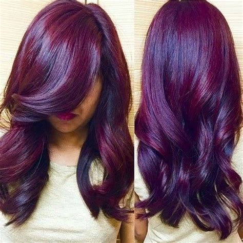 violet hair color purple hair color nail styling