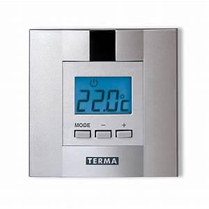 Seche Serviette Programmable : thermostat d 39 ambiance programmable journalier dtir ~ Nature-et-papiers.com Idées de Décoration