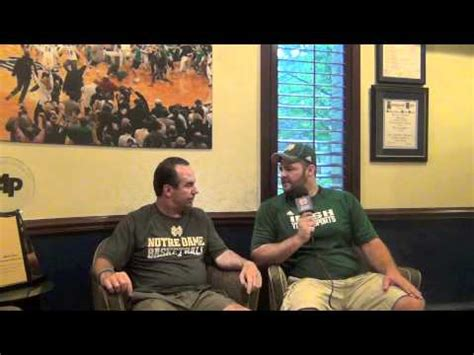 ND Youth Sports TV: Mike Golic Jr. sits down with Coach ...