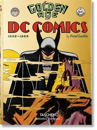 Age Golden Comics Dc Books Taschen Graphic