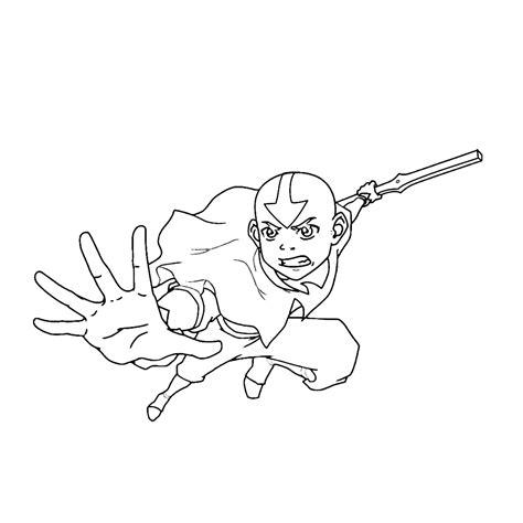 Avatar Kleurplaat by Leuk Voor Aang