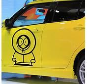 South Park Kenny Car Sticker