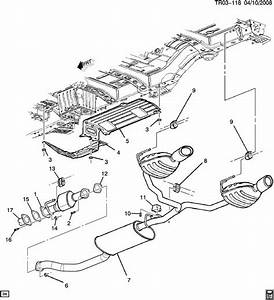 Chevrolet Traverse Converter  Catalytic Converter  Exhaust