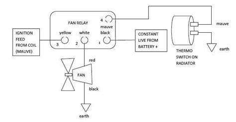 citroen ds   ds electric fan wiring diagram
