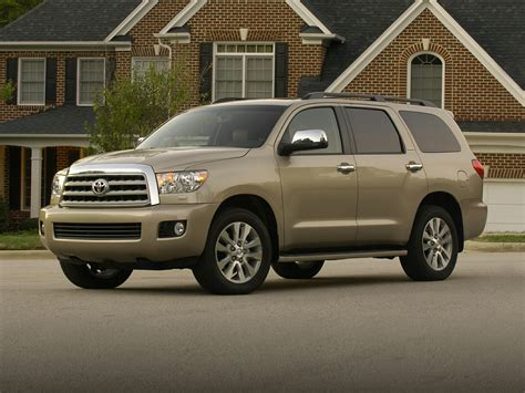 2018 Toyota Sequoia Price Photos Reviews Features