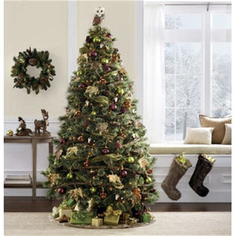 edison christmas tree lights jaclyn smith edison cashmere spruce christmas tree with