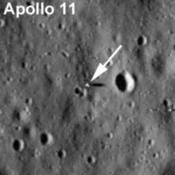 Lunar Probe Delivers First Photographs of Old Apollo ...