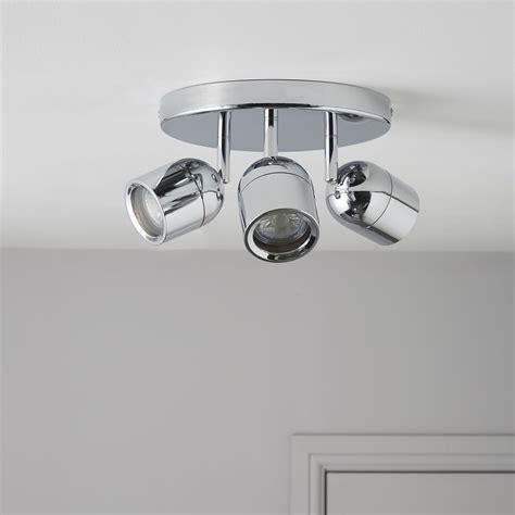genlis chrome effect  lamp bathroom spotlight