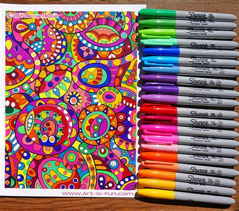 coloring supplies the best markers colored pencils gel