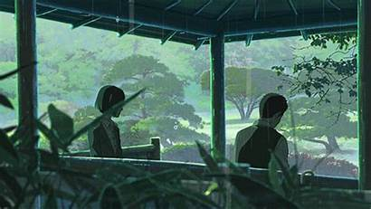 Anime Words Niwa Kotonoha Gifs Serious Garden