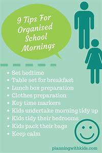 10 Tips For Organised School Mornings