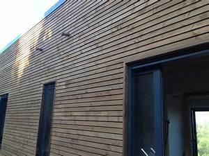 Bardage Bois Claire Voie : ossature bois en centre var maison bois c t sud ~ Dailycaller-alerts.com Idées de Décoration