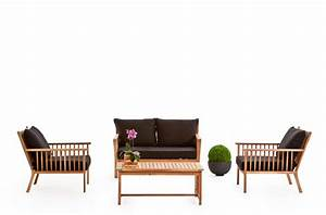 Gartenmöbel Lounge Set Holz : rattan lounge safari ~ Bigdaddyawards.com Haus und Dekorationen