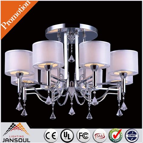 crystal ceiling fan chandelier combo lighting with false