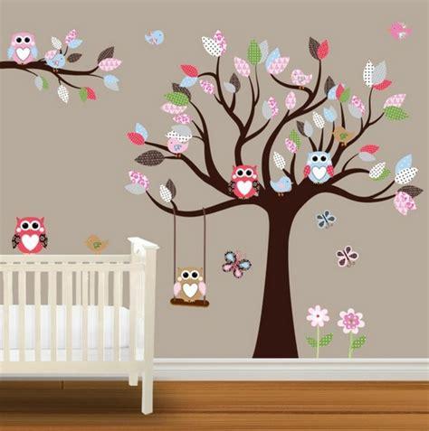 Wandtattoo Kinderzimmer Mädchen Baum by Babyzimmer Wandgestaltung Baum
