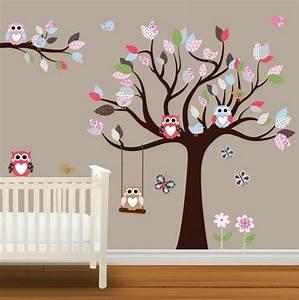 Wandtattoo Eule Baum Wandtattoo Baum Eule Badezimmer Ideen 2012
