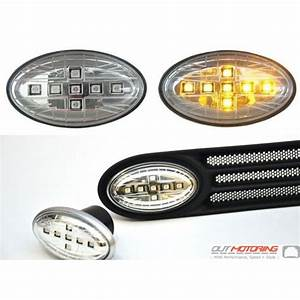 MINI Cooper Clear Union Jack LED Side Marker Housings gen ...