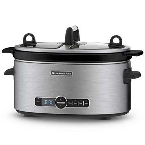 buy kitchenaid slow cooker artisan ksc stainless steel   australia  save