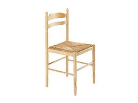 chaise cuisine bois paille chaise en hêtre massif avec assise en paille conforama
