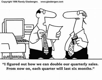 Sales Marketing Forecasting Cartoon Humor Analytics Creative