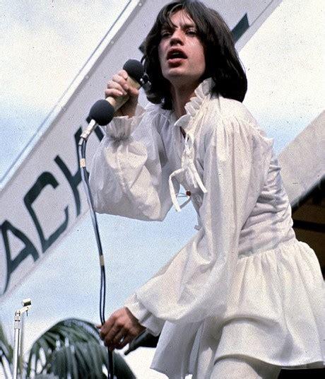 Dress Mick mick jagger s white dress cast him as a