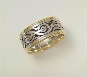 mens wedding band nordic ring viking ring mens ring With viking wedding rings