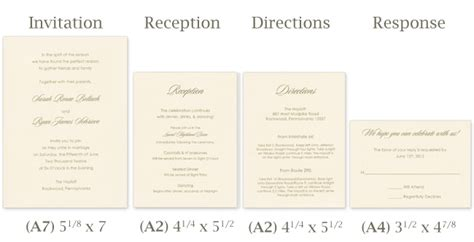 wedding invitations utah standard invitation size template best template collection